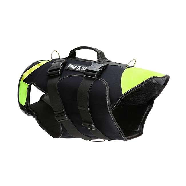 Side view Julius K9 NZ IDC Multifunction Dog Vest 2 in 1