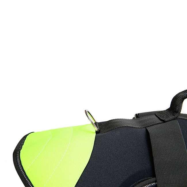 Rear side view Julius K9 NZ IDC Multifunction Dog Vest 2 in 1