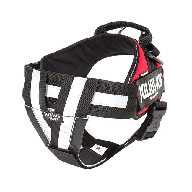 Julius K9 NZ IDC Reflective Belt on harness
