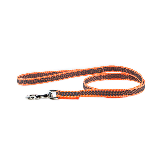 Julius K9 Color & Gray Leash in orange
