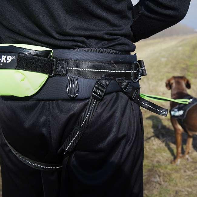 Julius K9 Premium Jogging Set on person and dog