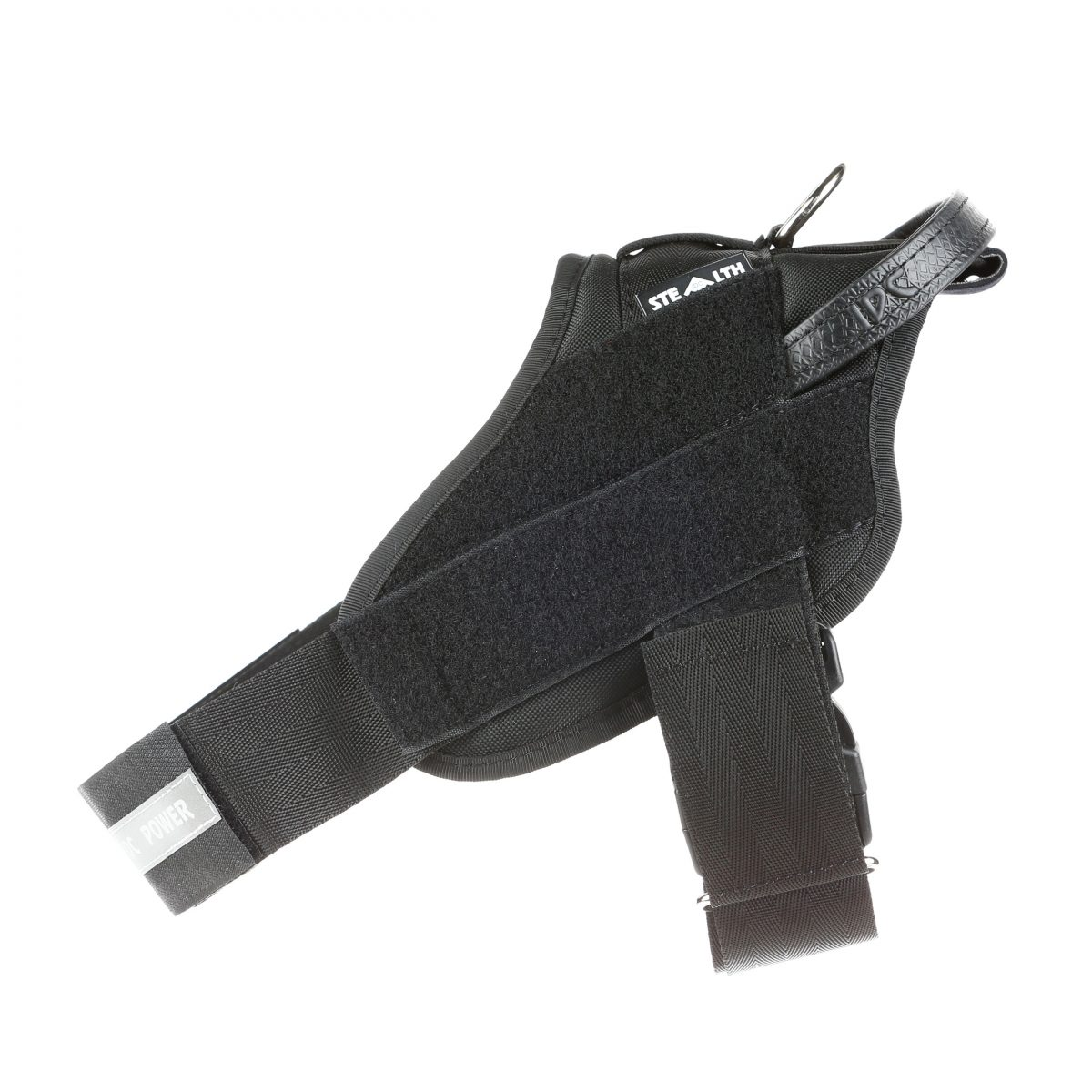 Julius K9 NZ Tactical IDC Stealth Powerharness side view