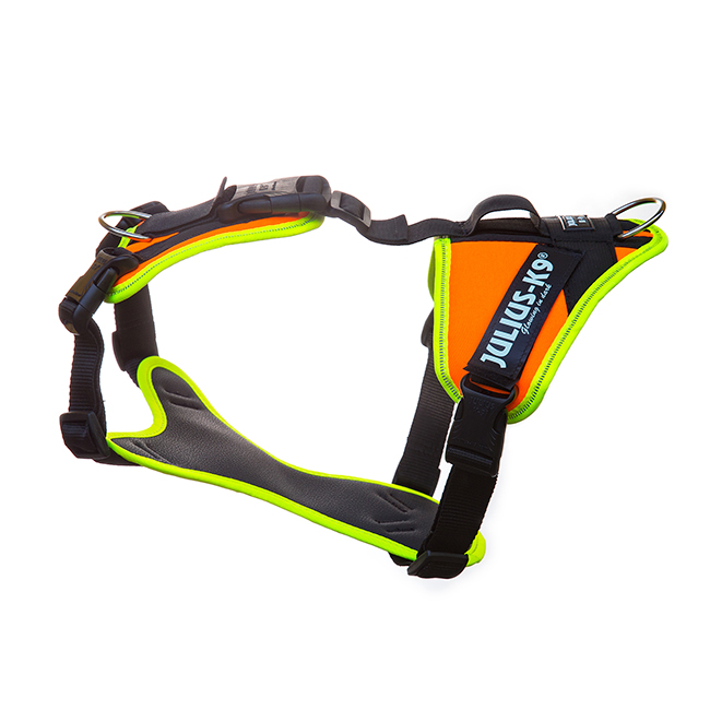 Side view of Julius K9 Mantrailing Outdoor Dog Harness