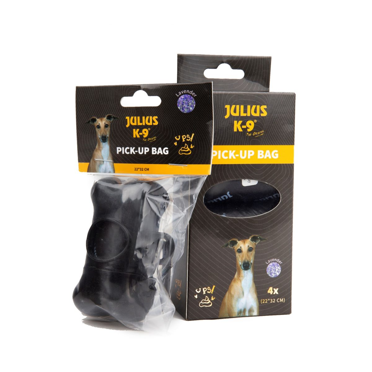 Julius k9 NZ Dog Pick Up Bag Refill with Holder in Packaging
