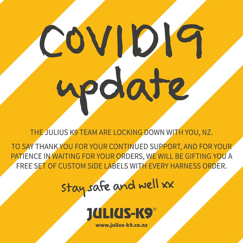 Julius K9 NZ CoVid19 Update