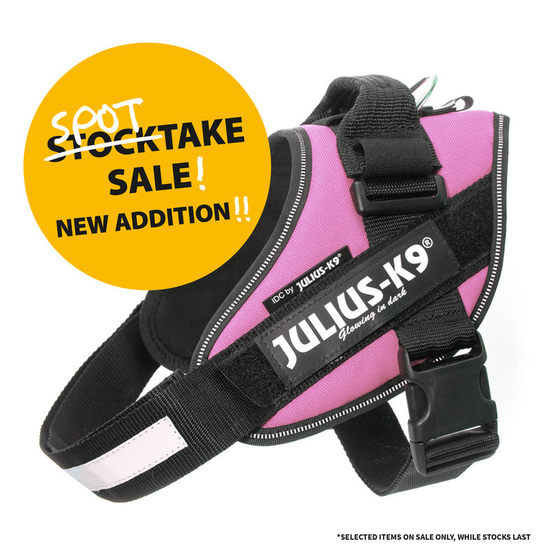 The pale pink IDC Powerharness has been added to the Spot Take sale