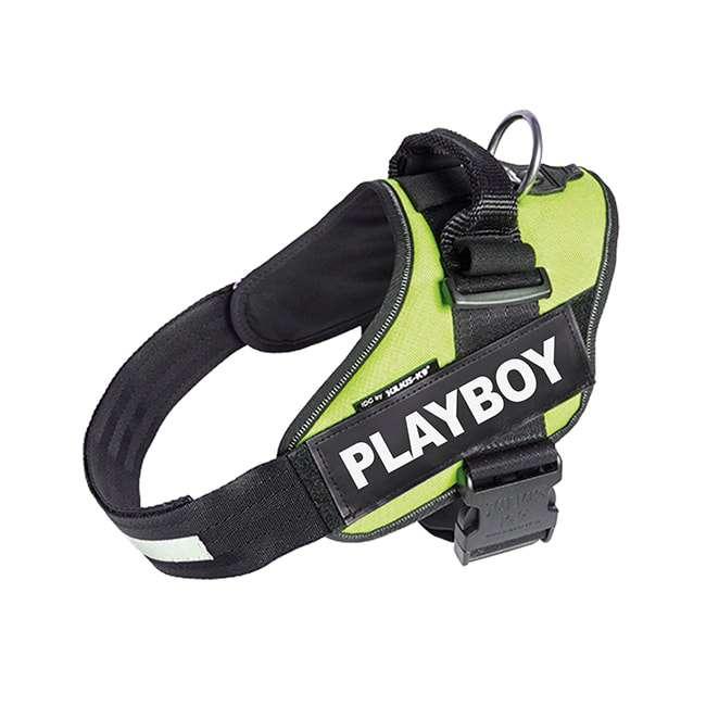 Playboy custom label on neon Powerharness