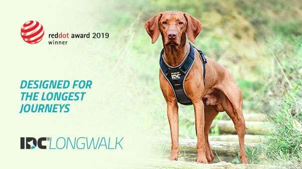 Julius-K9 NZ IDC Longwalk harness is designed for the longest walks