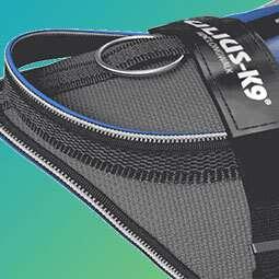 IDC Longwalk Harness has active components for comfort