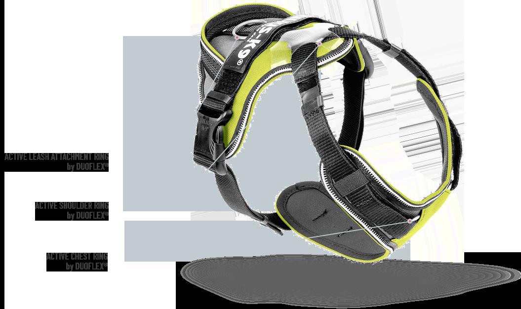 Diagram for IDC Longwalk Harness