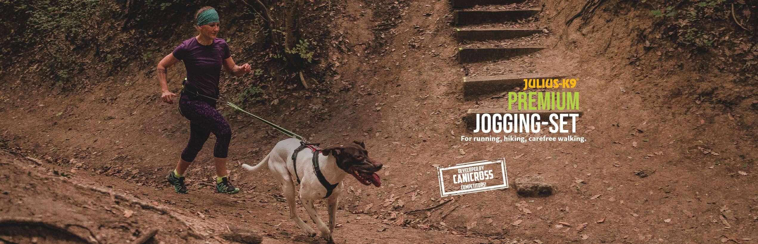 Julius K9's Premium Jogging Set in action