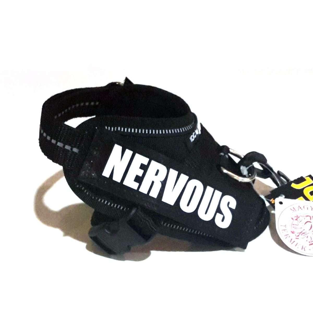 Nervous Custom Label for Julius-K9 Accessories