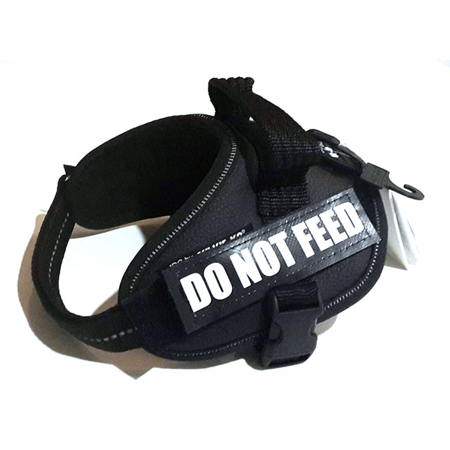Do Not Feed Custom Label for Julius-K9 Accessories