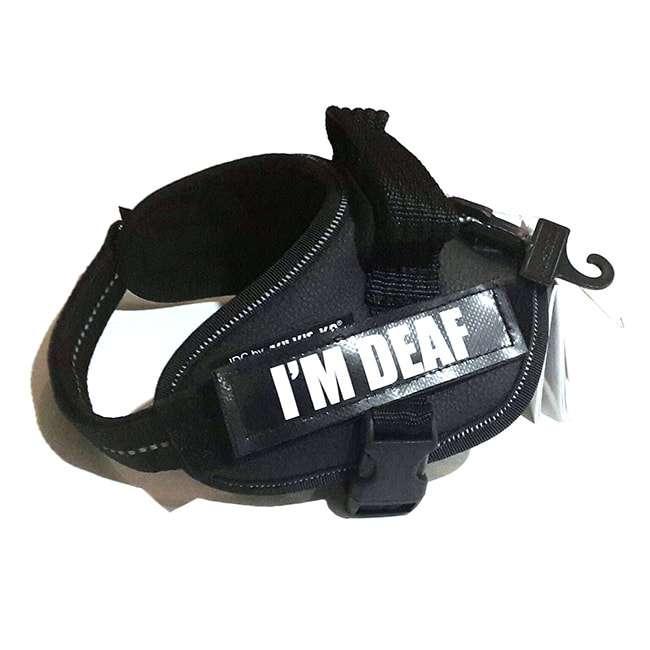 I'm Deaf Custom Label for Julius-K9 Accessories